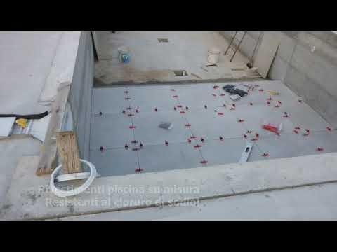 Rivestimento per piscine in gres resistente al sale / sbalzi termici - SU MISURA www.ceramicasud.com