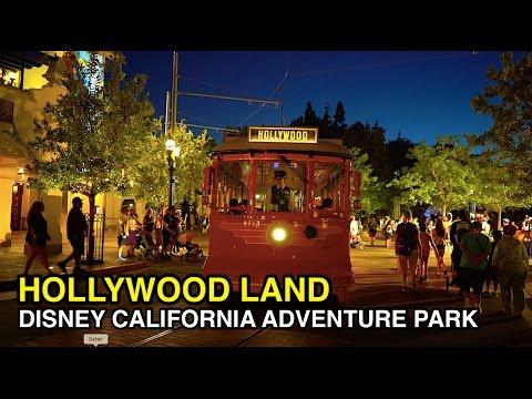 [4K] Hollywood Land - Nighttime Magic : Disney California Adventure Park (Anaheim, CA)