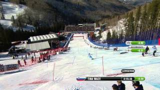 Video Tina Maze Wins - 2015 World Champs - Super Combined download MP3, 3GP, MP4, WEBM, AVI, FLV Mei 2018