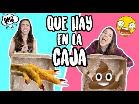 QUE HAY EN LA CAJA?!? CON ROSY + EL SUSTO QUE LE METI