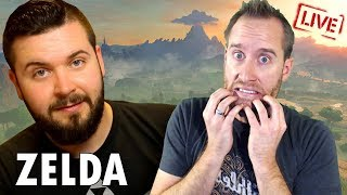 Attempting The Austin John Plays Great Plateau challenge in The Legend of Zelda: Breath of the Wild