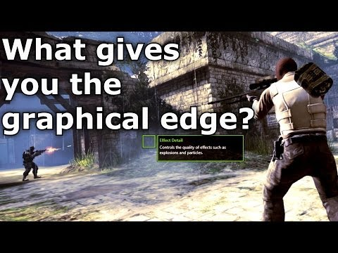 CS:GO Tutorial - Best Graphics Settings For Gameplay?