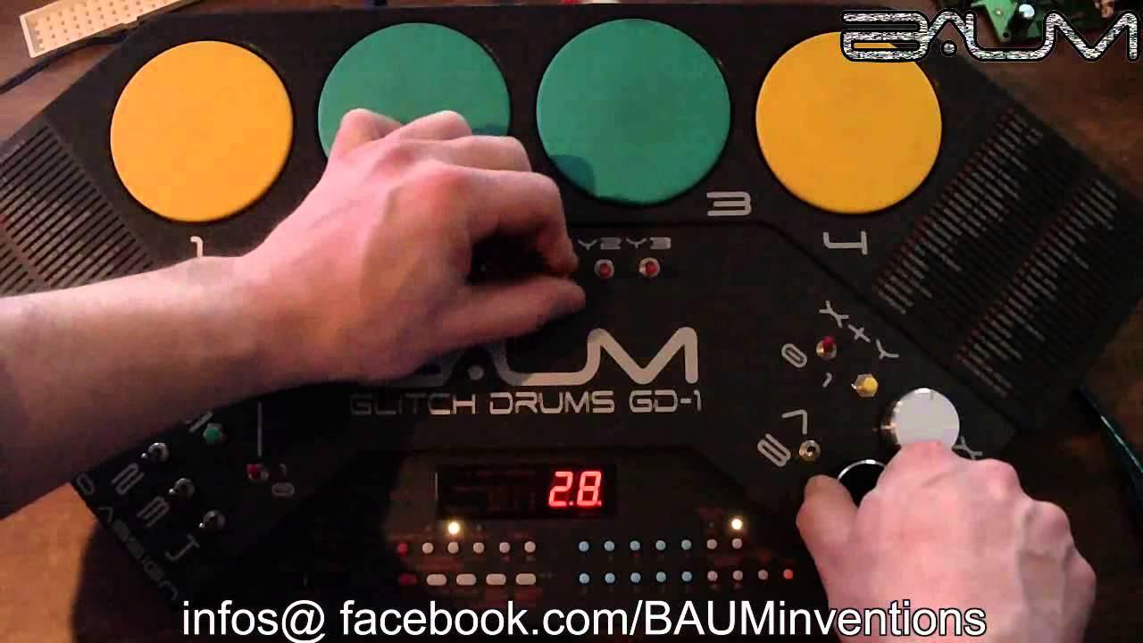 Circuit Bent Yamaha Dd