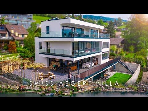 SWISS AERGERI VILLA | Luxury Swiss Villa on Lake Oberägeri, Switzerland