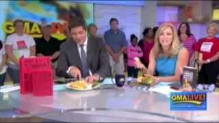 Pizzaburger on GMA Live