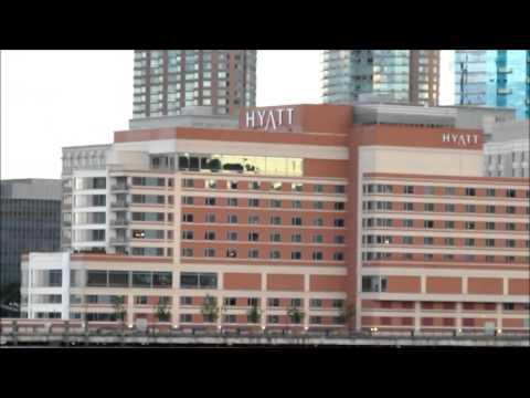 New York Harbor tour, part 10: Jersey City waterfront, from Newport to the Colgate Clock