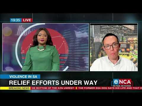 eNCA Business | Relief efforts underway - Pick n Pay