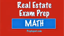 Finance problem - Real Estate Exam math