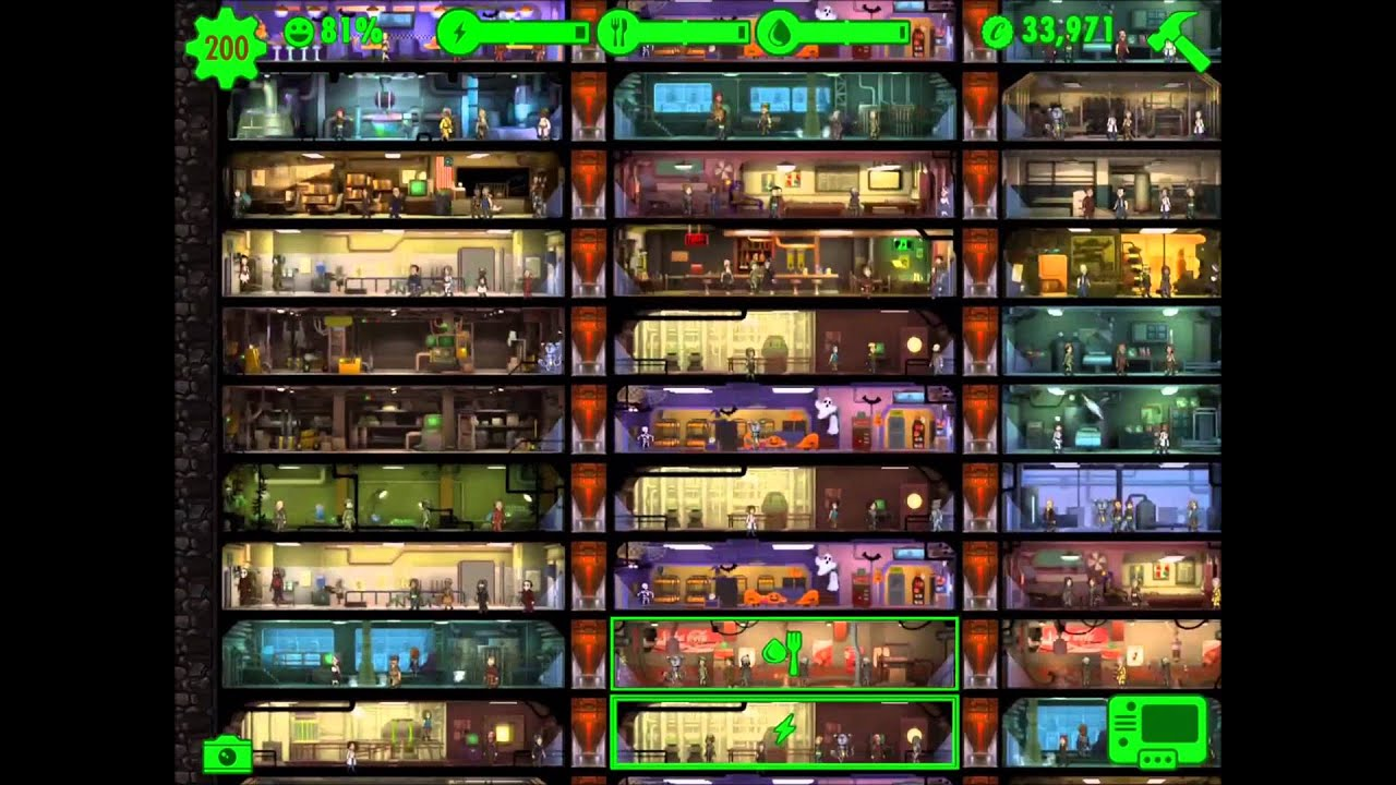 fallout shelter halloween themes