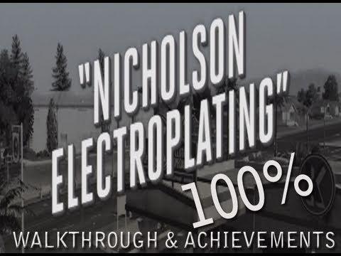 LA Noire: Nicholson Electroplating Walkthrough Complete 100%