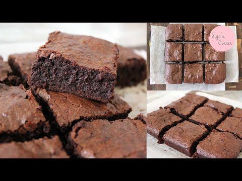 ألذ-وصفة-براونيز- -الطريقة-الأصلية---recette-brownies