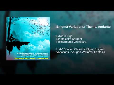 Enigma Variations: Theme. Andante
