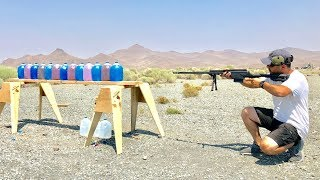 Serbu 50Cal vs 338 Lapua Savage