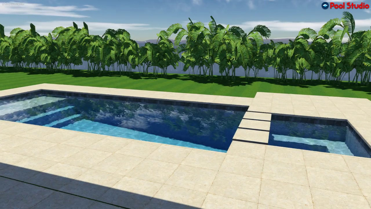Pool studio 3d swimming pool design software youtube for 3d pool design online free