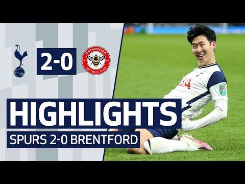 HIGHLIGHTS   SPURS 2-0 BRENTFORD   Tottenham Hotspur reach Carabao Cup final!