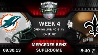 Miami Dolphins vs New Orleans Saints NFL Week 4 Monday Night Football Preview and Pick