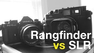 Rangefinder vs SLR Camera