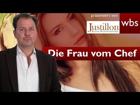 Wie alt ist die Frau vom Chef? Knapp daneben getippt = Kündigung | Rechtsanwalt Christian Solmecke