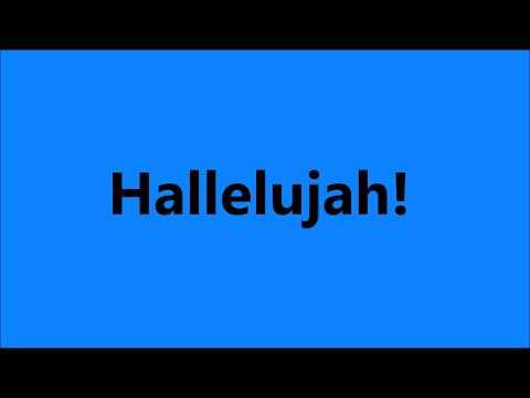 Hallelujah Chorus Sound Effect