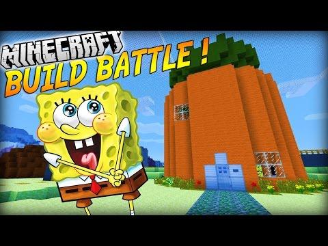 LA MAISON DE BOB L'ÉPONGE ! | BUILD BATTLE ( Avec PopiGames ) | Minecraft
