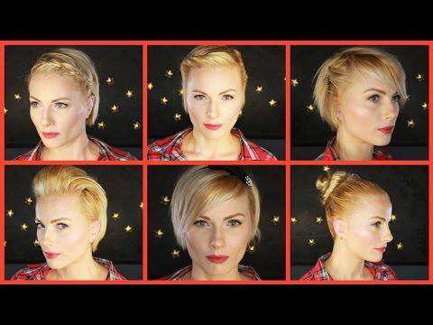 8 coiffures simples pour cheveux courts