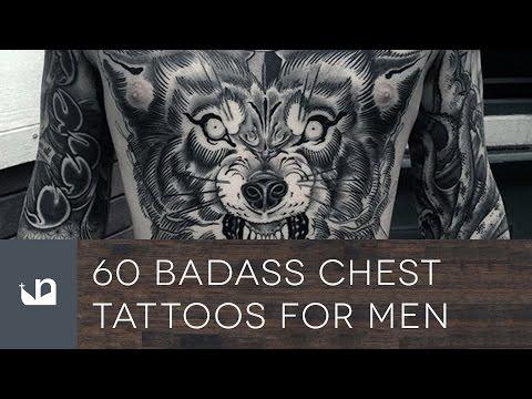 60 Badass Chest Tattoos For Men