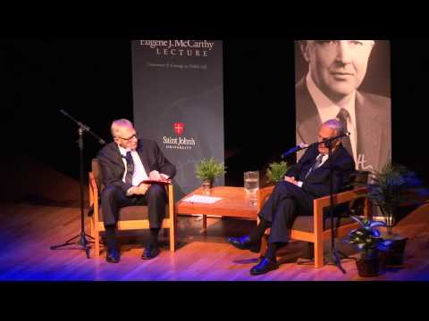 Conscience and Courage in Public Life - 2014 Eugene J. McCarthy Lecture