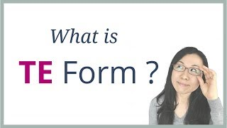 What is TE Form? - How to use Japanese TE Form