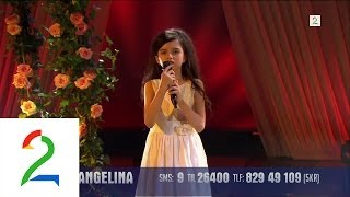 Angelina Jordan (8) sings Summertime by George Gershwin (Off...