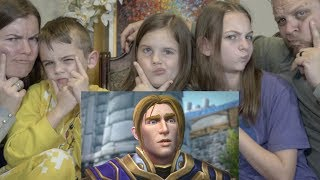 WOW REACTION | DEFEAT OF THE BURNING LEGION ALLIANCE EPILOGUE