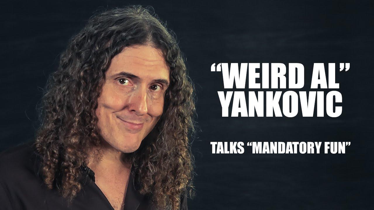 Weird Al\' Yankovic Talks \'Mandatory Fun\' Album - YouTube