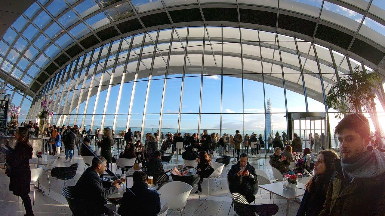 Sky Garden Walk: SKY GARDEN London Walk Tour With Spectacular City Views In
