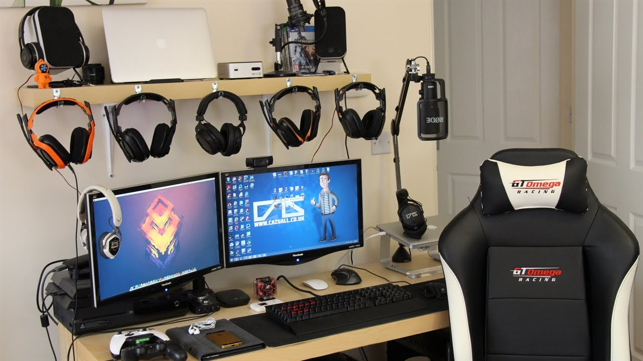 My Gaming Setup My Pc Macbooks Xbox One Ps4 Amp More