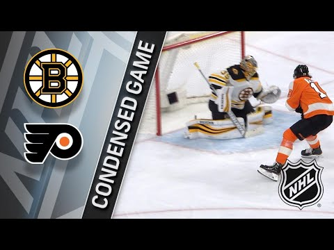 04/01/18 Condensed Game: Bruins @ Flyers