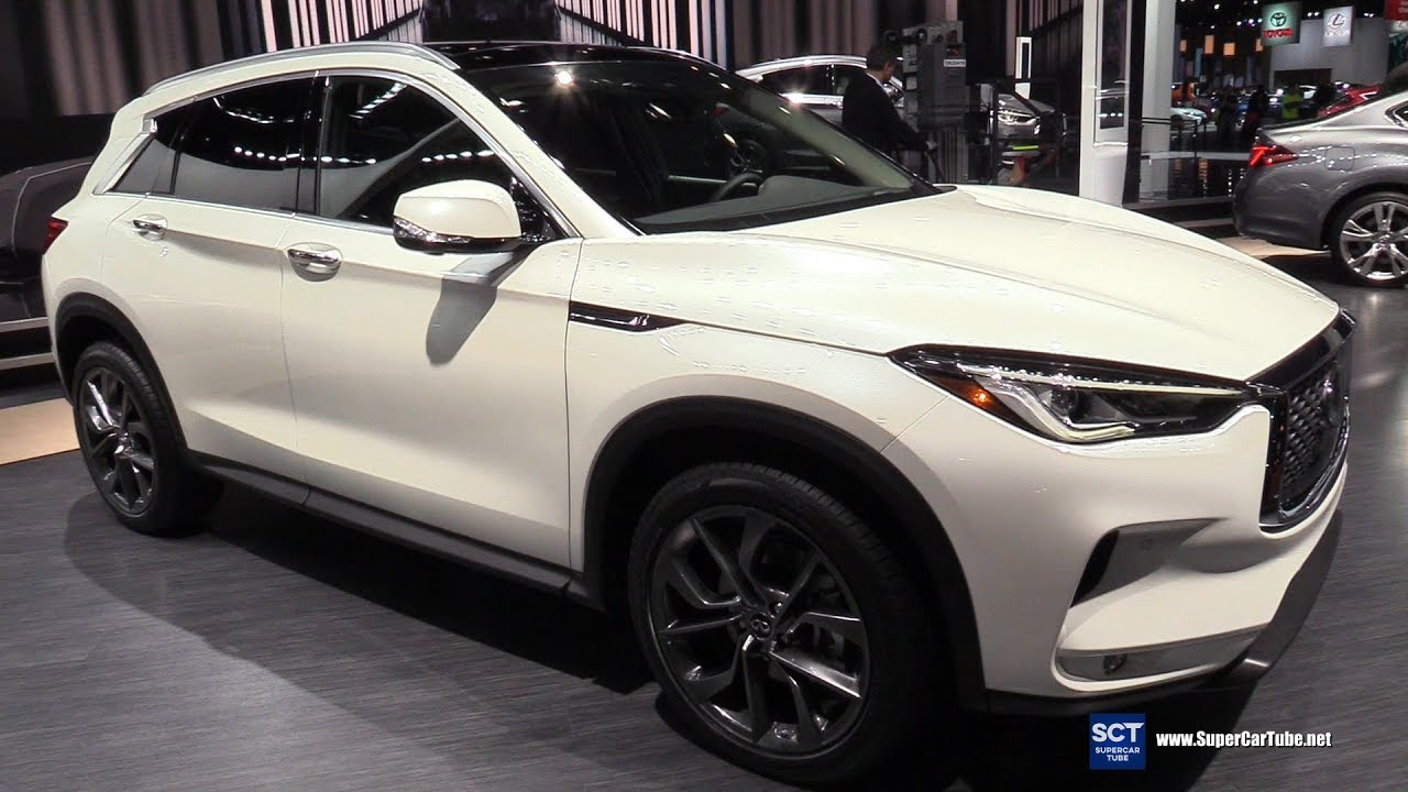 2018 infiniti qx50 awd exterior and interior walkaround 2018 detroit auto show youtube. Black Bedroom Furniture Sets. Home Design Ideas