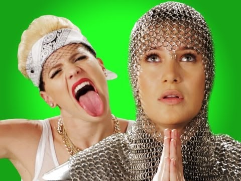 Epic Rap Battles of History - Behind the Scenes - Miley Cyrus vs Joan of Arc
