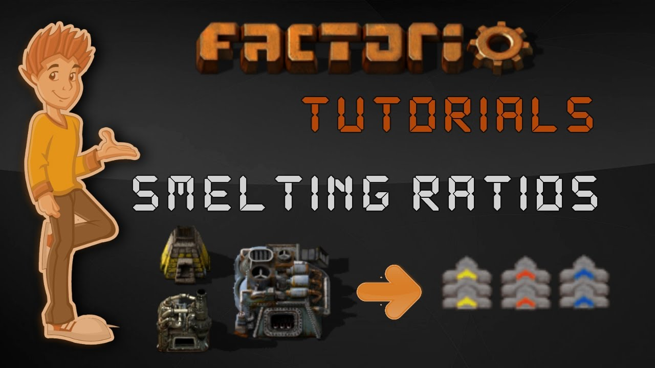 Smelting and Furnace Ratios - Factorio Tutorial