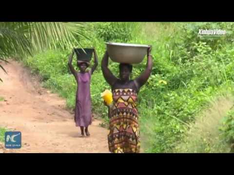 China-aided water boreholes alleviate plight of rural folks in Ghana