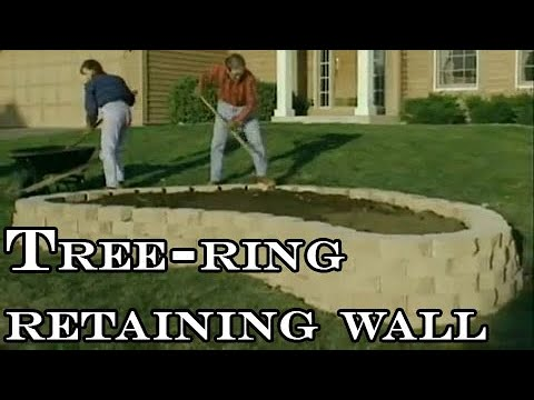How to build a retaining wall - YouTube