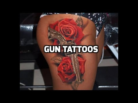 Gun Tattoo Designs - Best Gun Tattoos 2018 HD
