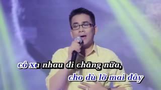 Ngậm Đắng Nuốt Cay - Huỳnh Nguyễn Công Bằng Karaoke