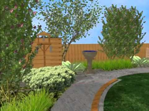 3d Garden Design Animation