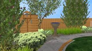 3d Garden Design Animation
