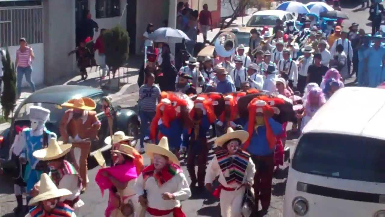 Carnaval del Peñon de los Baños 2013 Calaveras Miercoles de ceniza ...