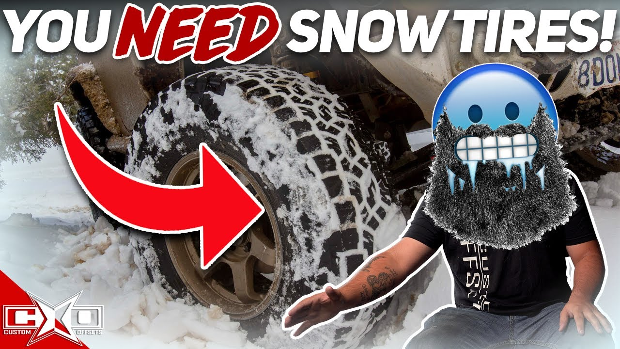 Do I NEED Snow Tires with 4WD?