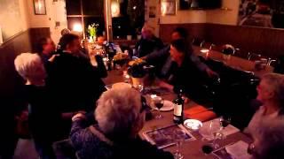 Tranedans med Rotary Dragør