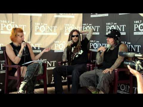Lux Interviews Korn at the Rockstar Energy Mayhem Festival