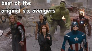 the OG avengers avengering for 7 minutes straight