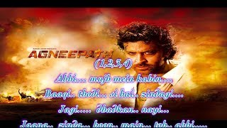 Abhi Mujh Mein Kahin Full Free HD Karaoke With Scrolling Lyrics - Agneepath ( 2011 )
