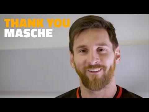 Barça Players Say Goodbye To Javier Mascherano #ThankYouMasche